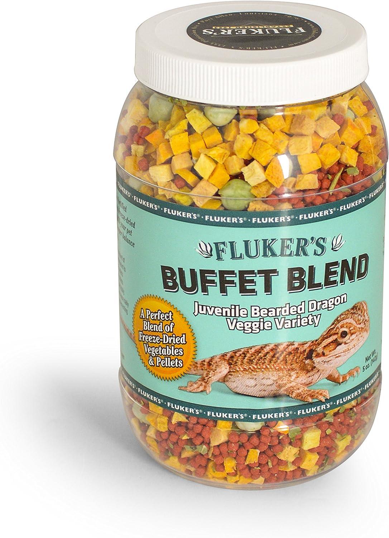 Fluker's Buffet Blend Juvenile Bearded Dragon Veggie Variety Diet
