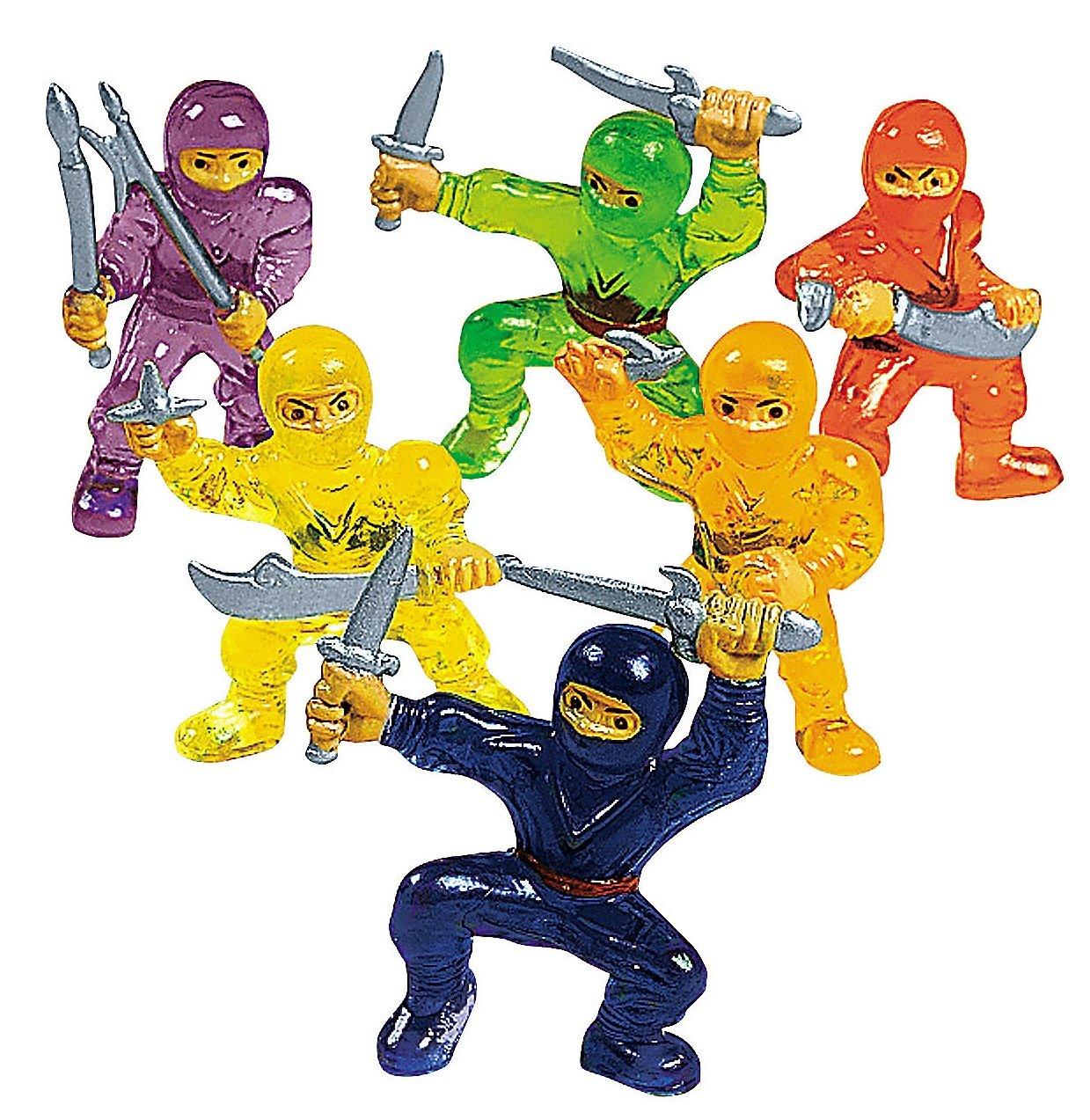 Ninja Warrior Toy Figures (4 dz): Amazon.es: Juguetes y juegos