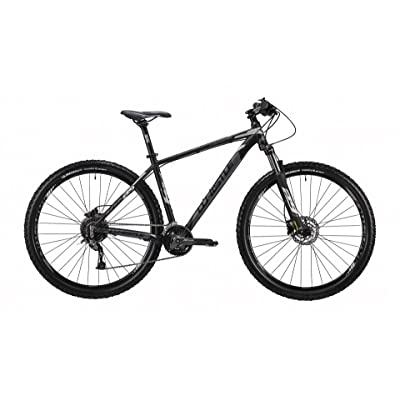 "'Mountain Bike 29 ""Front/Hardtail Top Load Whistle Patwin 1832, 27 vitesses, couleur anthracite – Noir mat, Taille L 21 (185 cm – 200 cm)"