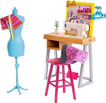 Amazon.es: Barbie Quiero Ser Diseñadora, accesorios de muñeca ...