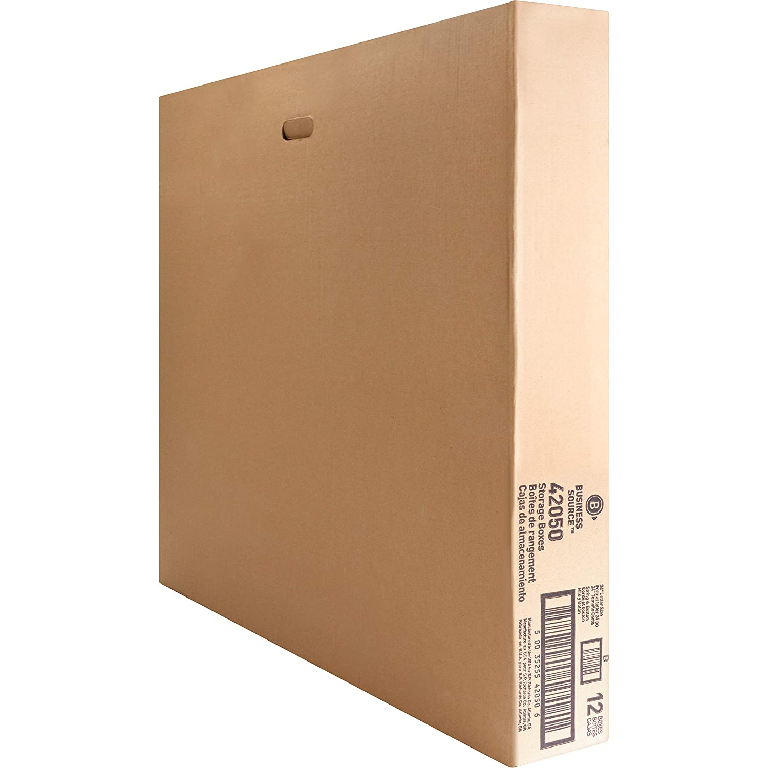 Amazon.com : Business Source Corrugated File Box (BSN42050) : Record Storage Boxes : Office Products