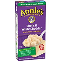 Deals on 12-Pack Annie's Shells & White Cheddar Mac and Cheese 6oz