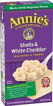 12-Pack Annie's Homegrown Shells & White Cheddar Macaroni & Cheese