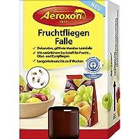 Aeroxon Fruchtfliegenfalle - Extra große Fangfläche für lang anhaltende Bekämpfung