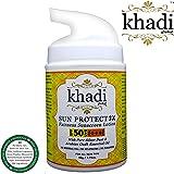 Khadi Global Sun Protect 3X Fairness SPF 50+ UVB and PA+++ UVA Sunscreen Lotion, 50g