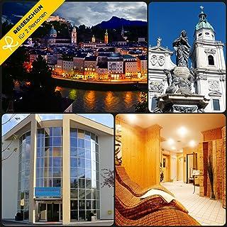 Schein Bon d'achat de voyage 3jours dans le * * * * Arena City Hotel–Salzbourg dans la ville Lave-vaisselle Jeu ERLEBEN Reiseschein