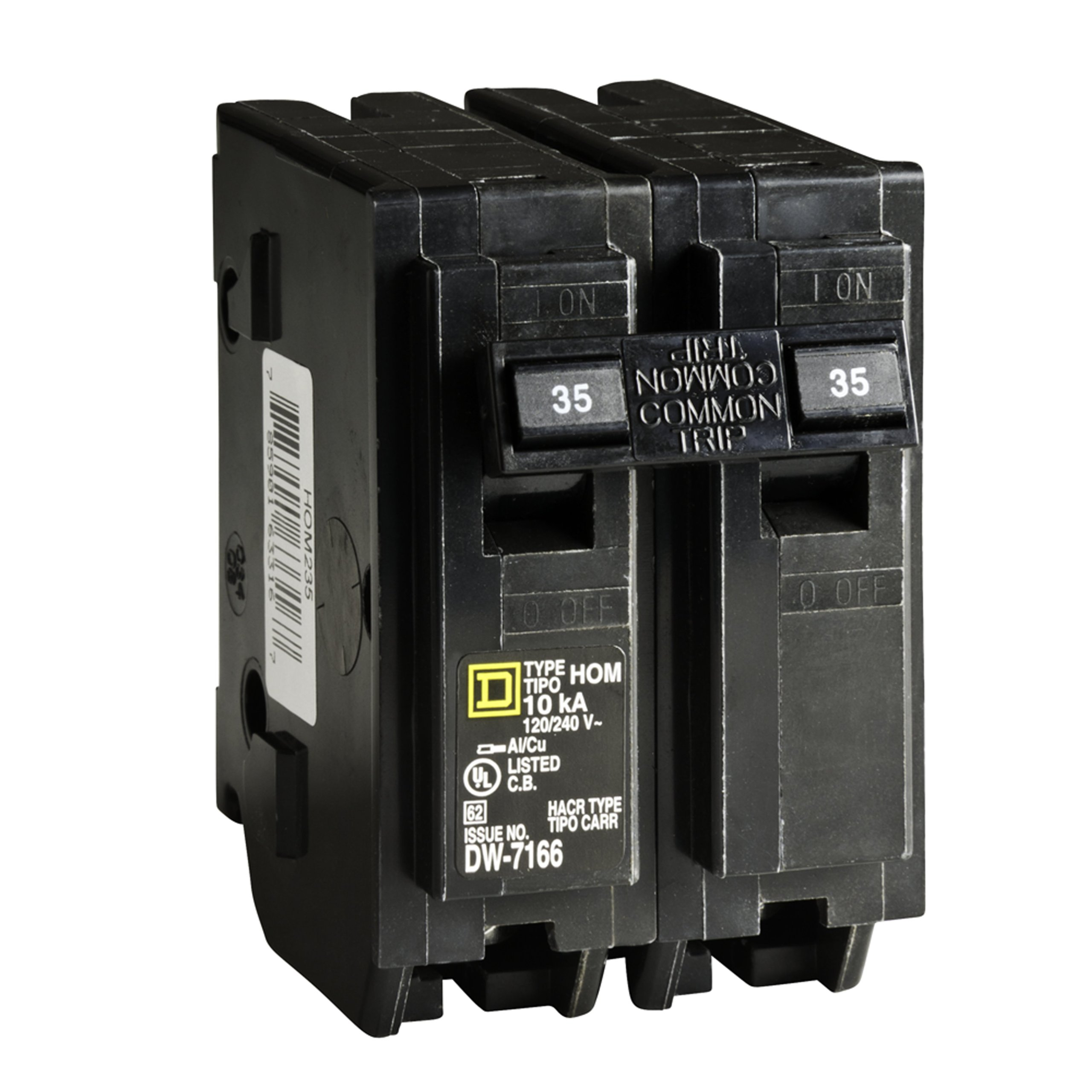 Square D by Schneider Electric HOM235CP Homeline 35-Amp Two-Pole Circuit Breaker