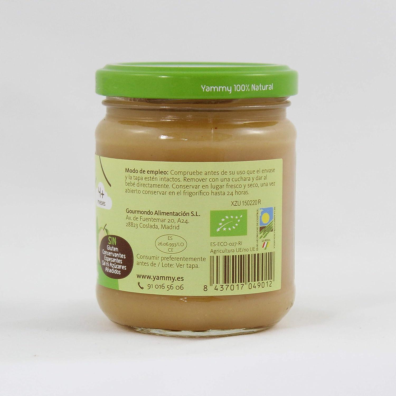 Yammy, Potito Ecológico de Frutas (Pera, Kiwi, Aguacate) - 12 de 195 gr. (Total 2340 gr.): Amazon.es: Alimentación y bebidas