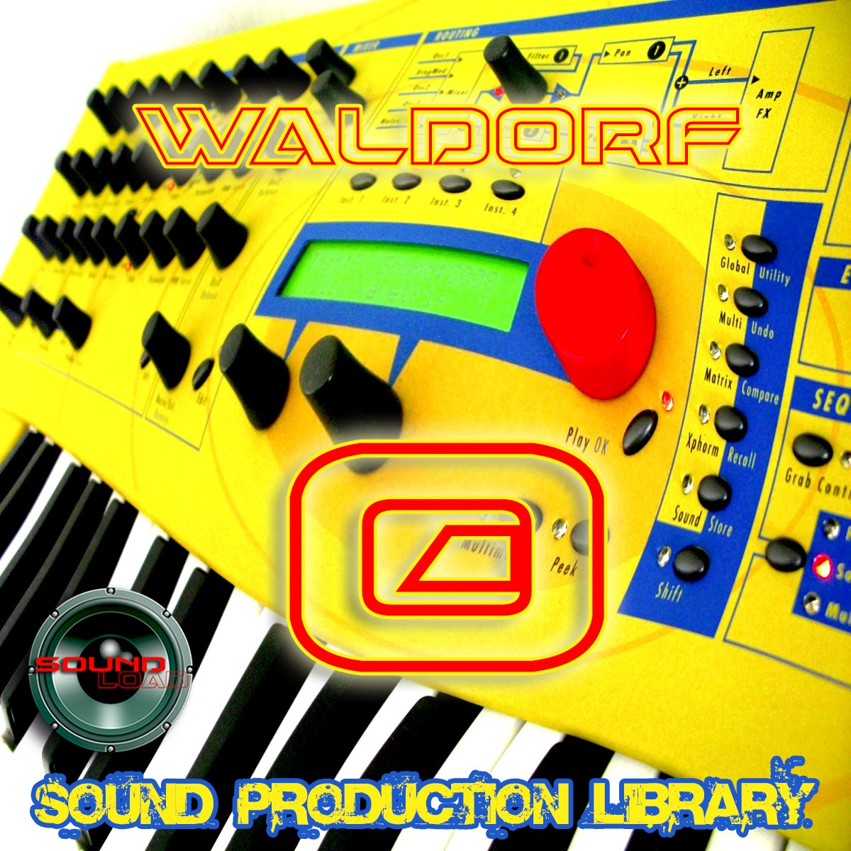 WALDORF Q - Large unique original 24bit WAVE/Kontakt Multi-Layer Samples Library. FREE USA Continental Shipping on DVD or download by SoundLoad (Image #1)