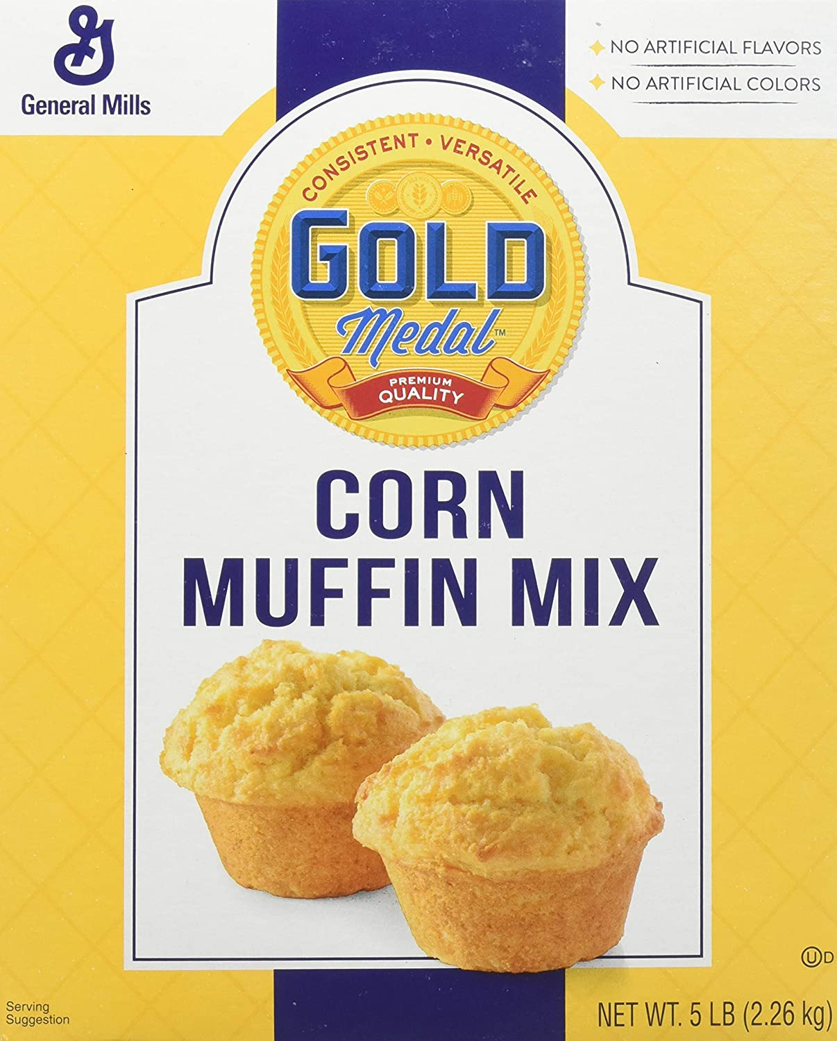 Gold Medal Corn Muffin Mix, 6 Count