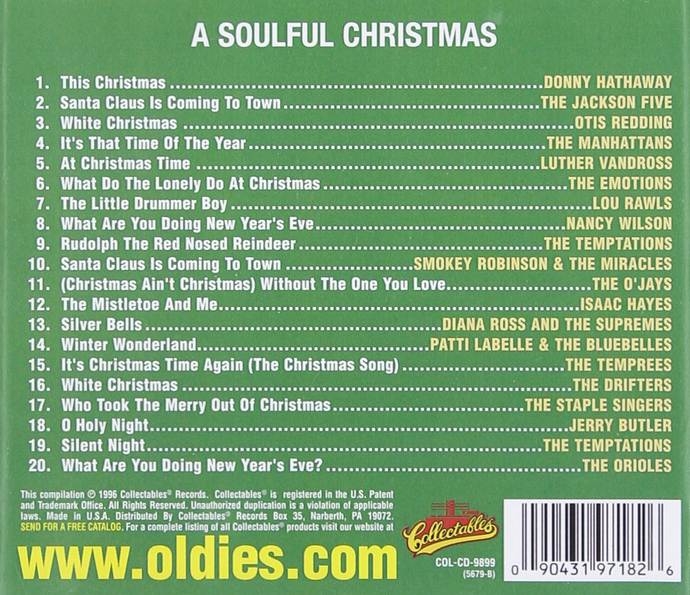 VARIOUS ARTISTS - Soulful Christmas 1 - Amazon.com Music