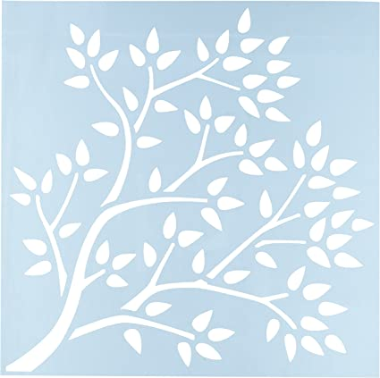 """Clearsnap Clear Scraps 12inch Family Tree Stencils Stencils x Tree 12/"""" By 12/"""""""