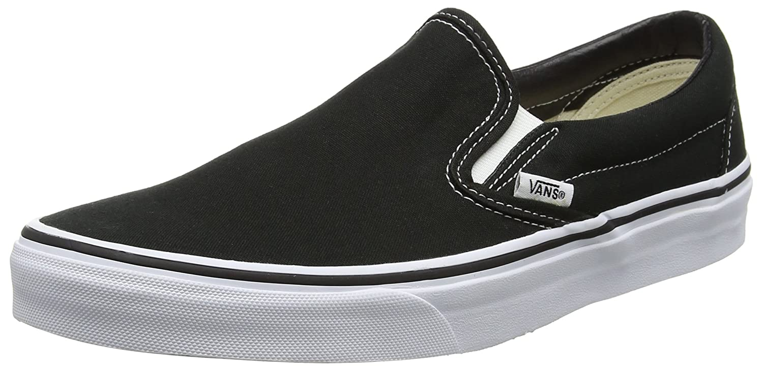cf2f0721 Vans Unisex Adults' Classic Slip-on Canvas Trainers