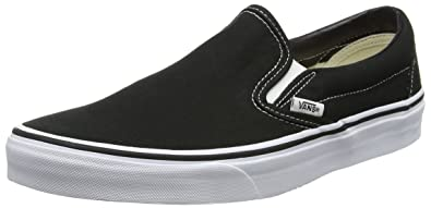 a224621720b Vans Classic Slip-on Skate Shoes - Black 10 B(M) US Women