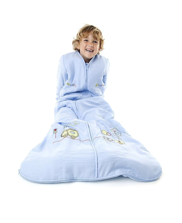 amazoncom slumbersafe toddler sleeping bag long sleeves 25 tog choo choo monthslarge baby