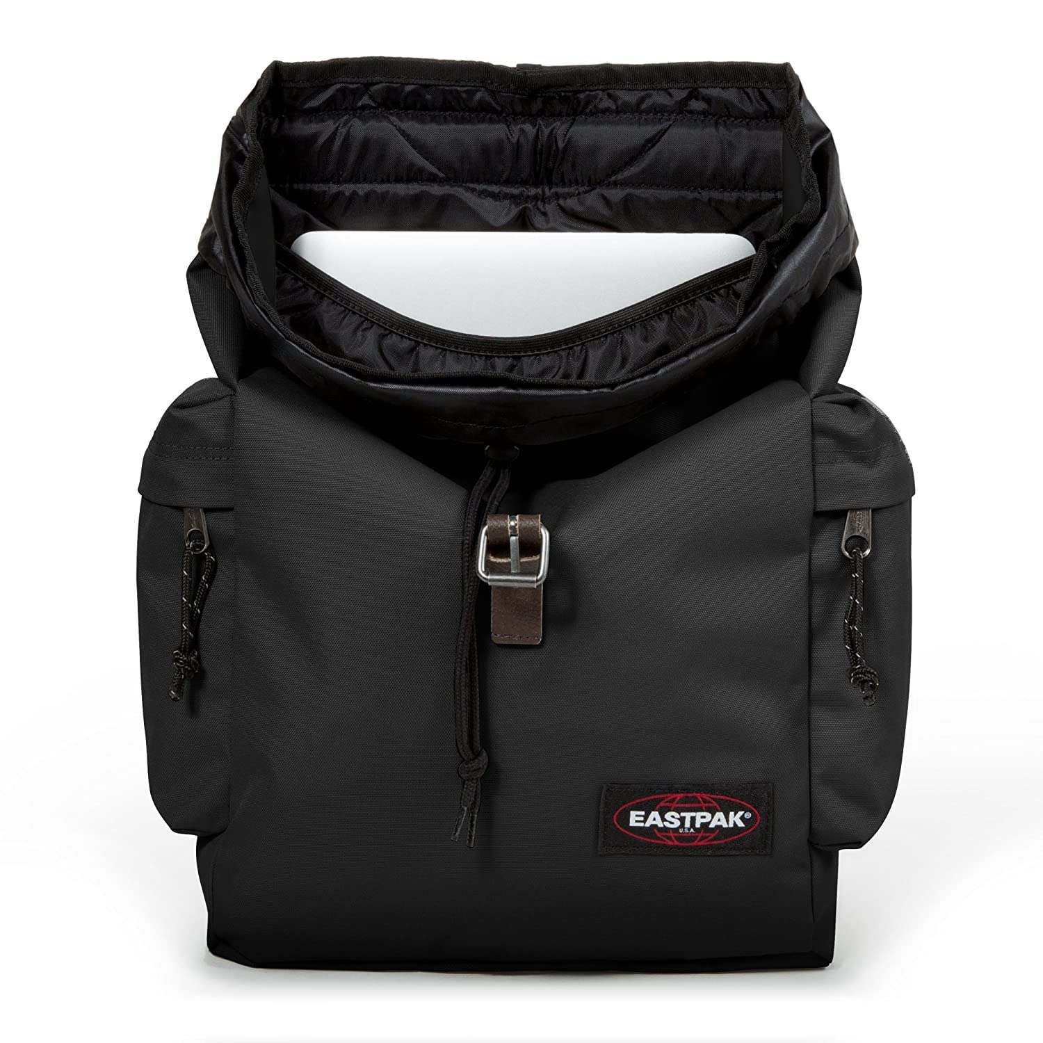 eastpak austin laptop backpack one size black clothing