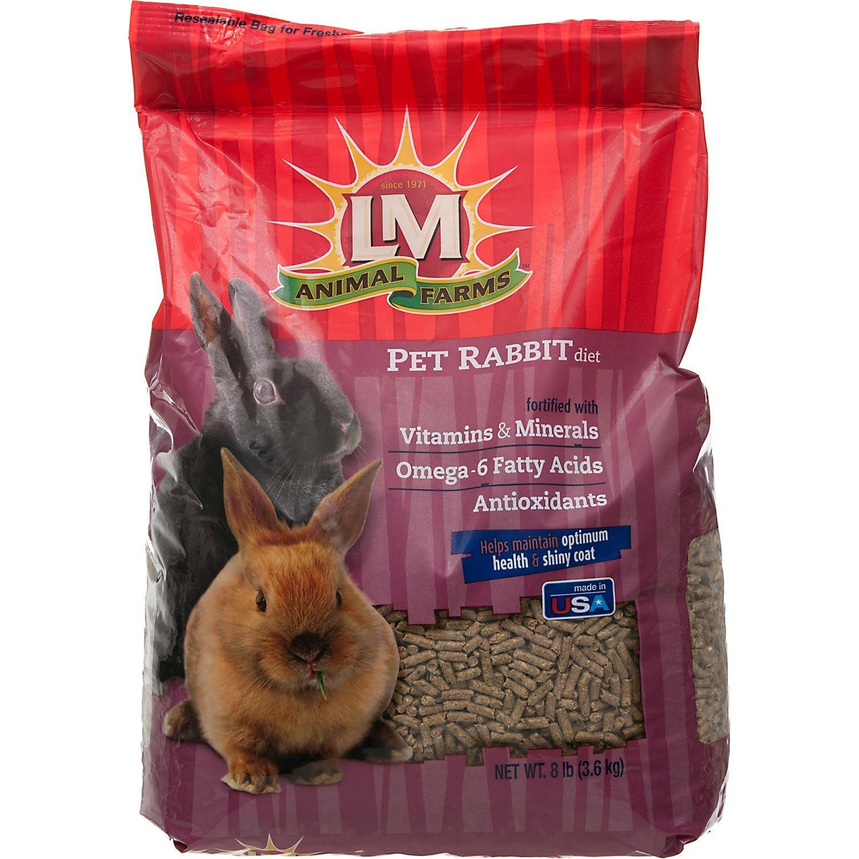 L/M Animal Farms SLM12117 Bonanza Rabbit Diet Food, 20-Pound