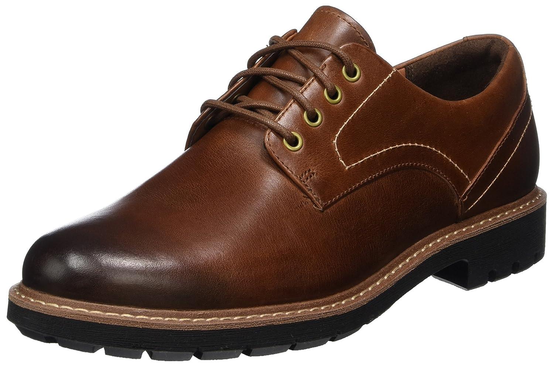 Clarks Batcombe Hall, Zapatos de Cordones Derby para Hombre 39.5 EU
