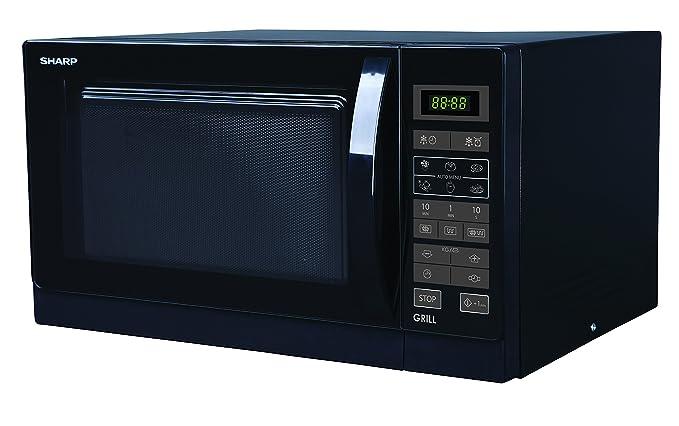 Sharp R de 742bkw 2en 1Micro Onde et grill 25L/900W/42.95cm/fonction grill/Noir