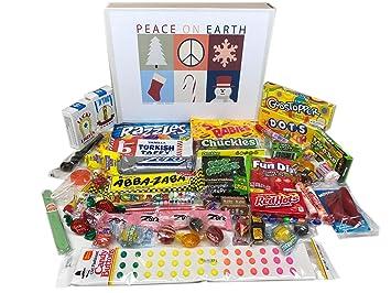 Amazon.com : Woodstock Candy Christmas Holiday Retro Nostalgic Candy ...