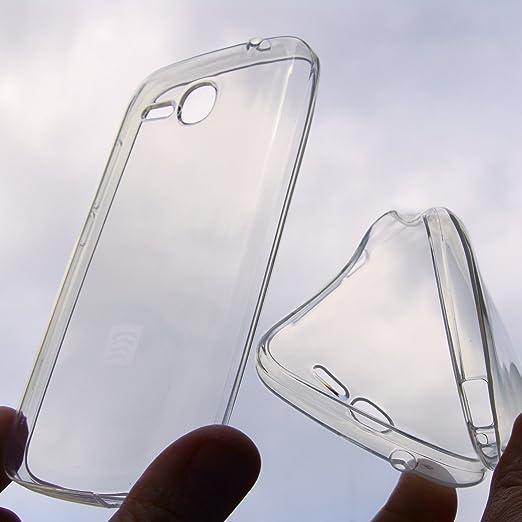 5 opinioni per CUSTODIA PROTEZIONE IN SILICONE GEL trasparente ANTI URTO SEMIRIGIDO per Huawei