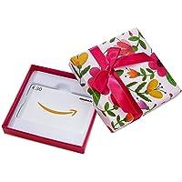 Amazon.de Geschenkkarte in Geschenkbox (Blumen) - mit kostenloser Lieferung per Post