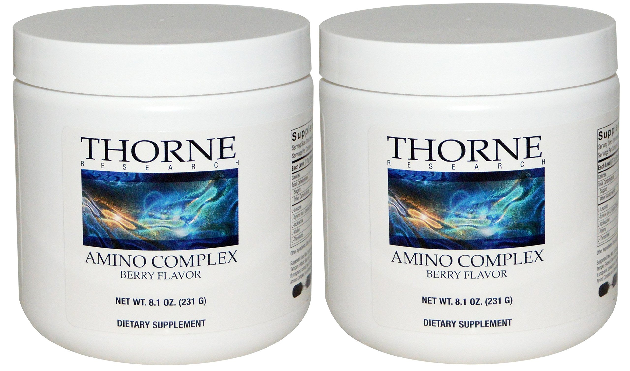 Thorne Research - Amino Complex Berry Flavor - 2 Pack