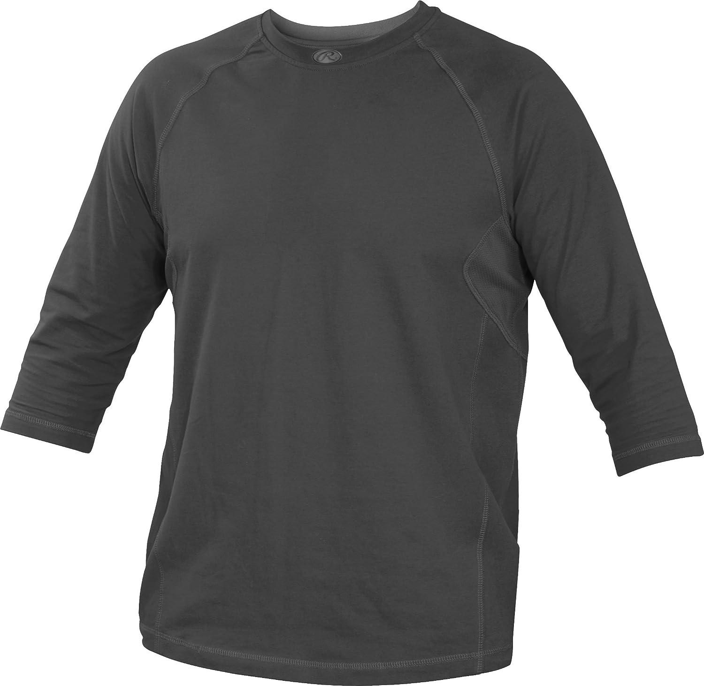 Rawlings Sporting Goods Erwachsene 3//4/Sleeve Performance Shirt
