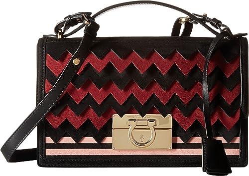924a10b85efb Salvatore Ferragamo Aileen Opera Ballerine Nero Shoulder Handbags   Amazon.ca  Shoes   Handbags