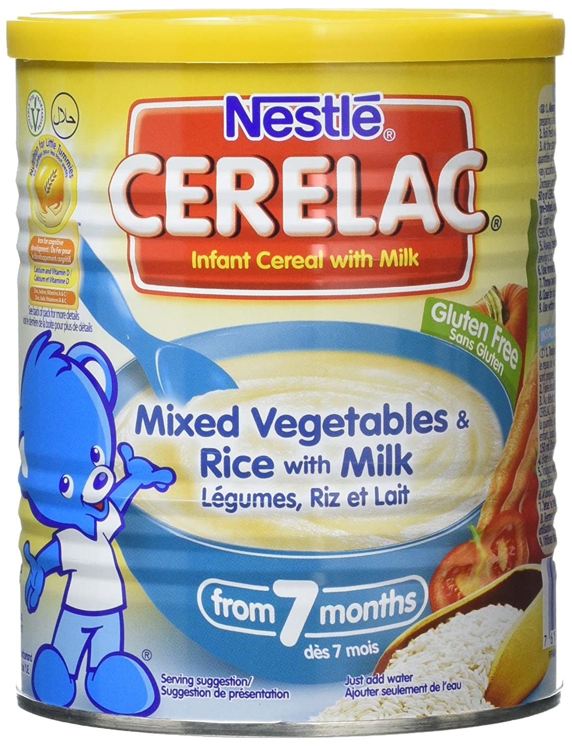 Nestle Cerelac 3 Cereals With Milk, 400 g Can Live in Morrisons