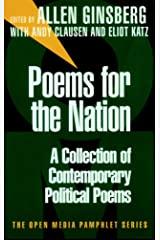 Poems for the Nation: A Collection of Contemporary Political Poems Paperback