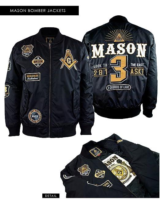 Amazon.com: chamarra para mampostería Freemason Masónica ...