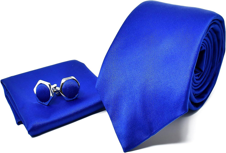 Homme Cravate Mouchoir Bouton De Manchette ensembles gravata soie Cravates Business Fête De Mariage adulte