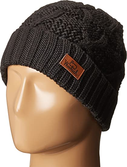 a3b10071d4b Woolrich Unisex Cable Knit Cuff Hat
