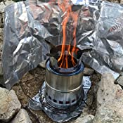 Amazon.com: SOLEADER Portable Wood Burning Camp Stoves
