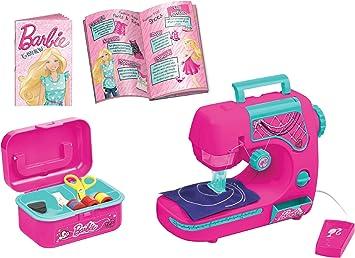 LEXIBOOK Barbie - Mi Primera máquina de Coser, Color Rosa ...
