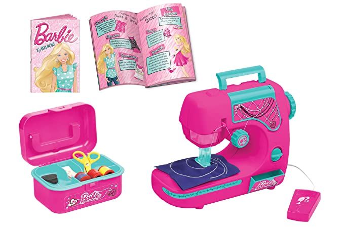 LEXIBOOK Barbie Sewing Machine With Fashion Designer Guide Lexibook Awesome Barbie Sewing Machine Instructions