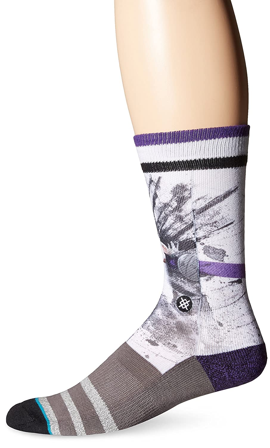 Stance Mens Jason Williams Splatter NBA Legends Crew Sock