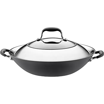 Amazon Com Anolon Advanced Hard Anodized Nonstick 14 Inch