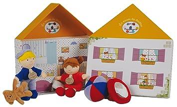 Doudou Et Compagnie Dc2304 La Maison Des Poupées Puppenhaus Mit