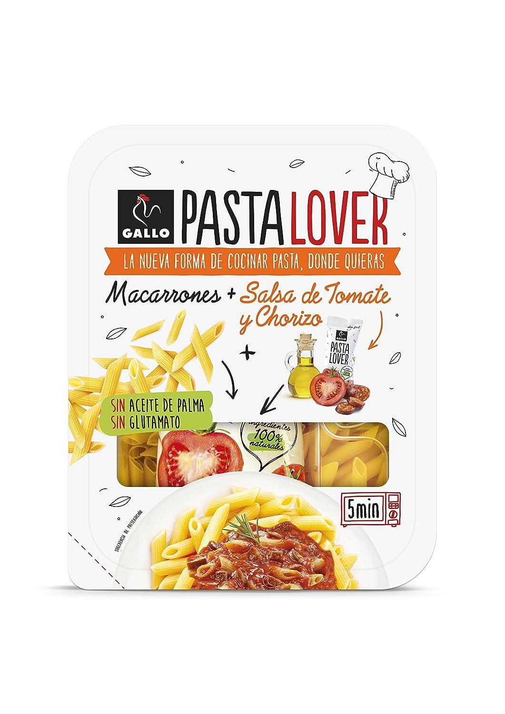 Gallo Pastalover Macarrones Chorizo - 200g: Amazon.es: Alimentación y bebidas