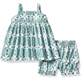 Reyn Spooner Girls' Toddler Christmas Quilt Dress and Bloomers Set