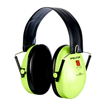 3M Peltor Optime I Kapselgehörschutz A3 – Faltbarer Gehörschützer mit Weichen und Ersetzbaren Polstern für Optimalen Tragekom