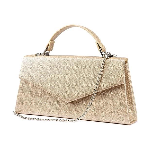 Vintage Handbags, Purses, Bags *New* Women Evening Envelope Handbag Clutch Purse Shoulder Cross Body Bag for WEDDING PARTY  AT vintagedancer.com