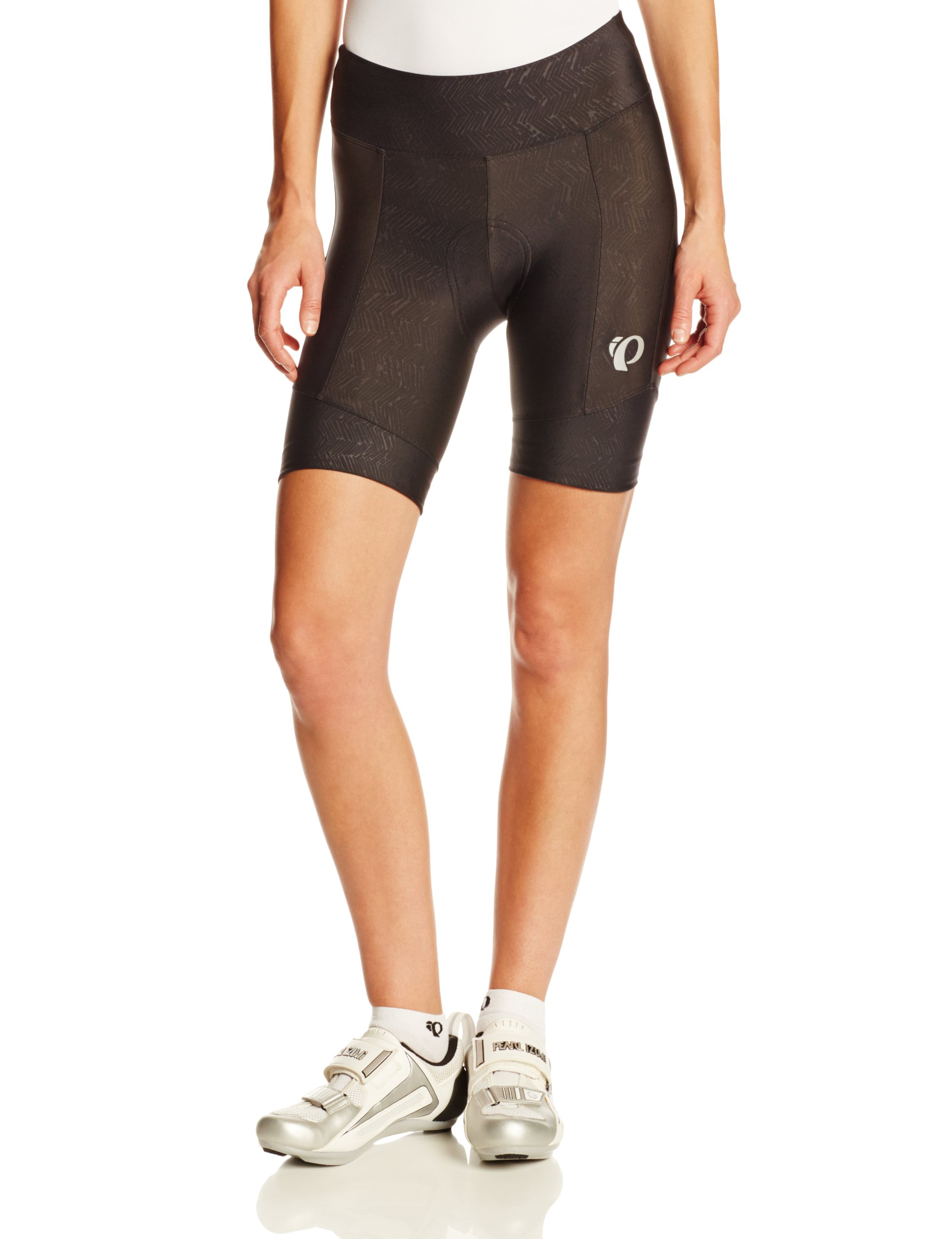 Pearl Izumi Women's W Attack Shorts, Black Texture, Large by Pearl iZUMi (Image #1)