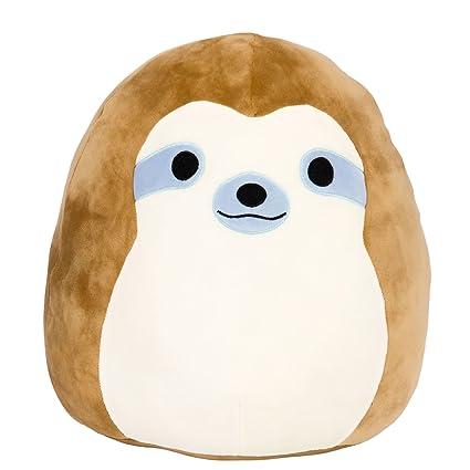 Amazon Com Kellytoy Squishmallow 8 Inch Simon The Sloth Super Soft