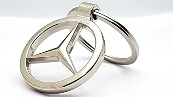 gift4all Llavero de metal con el logotipo de Mercedes Benz [S1]