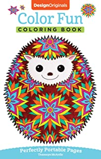 Color Fun Coloring Book Perfectly Portable Pages