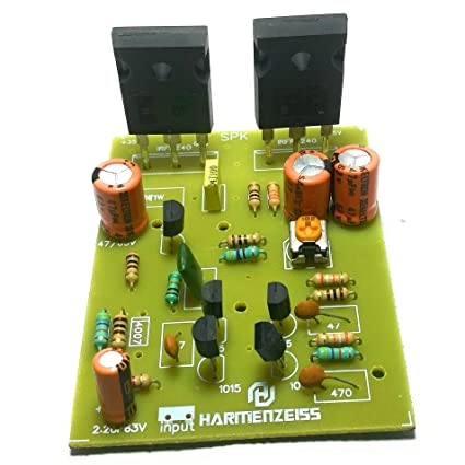 LTS Hub 250 W Mono Mosfet Amplifier IRF240 and 9240: Amazon in