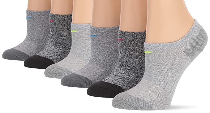 96ee8ab7749fc Amazon.com: NIKE Women's Everyday Lightweight No-Show Socks (6 Pairs ...